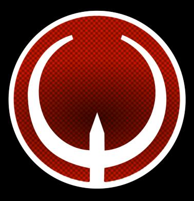 Принт Кепка-тракер Quake Logo - FatLine