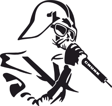 Принт Коврик для мыши Дарт Вейдер караоке - FatLine