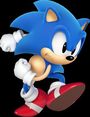 Принт Тельняшка с длинным рукавом Sonic 3d - FatLine