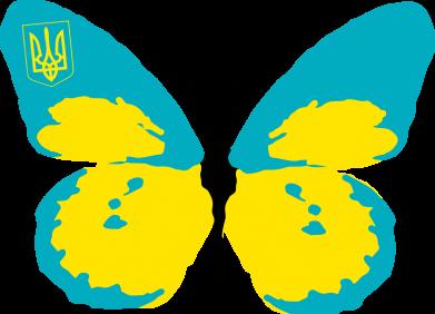 Принт Штаны Український метелик - FatLine