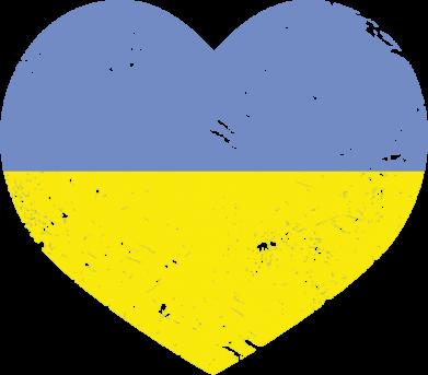 Принт Шапка Пошарпане серце - FatLine