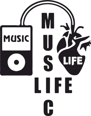 Принт Фартук Music life - FatLine