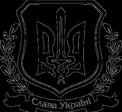 Принт Толстовка Слава Україні (вінок) - FatLine