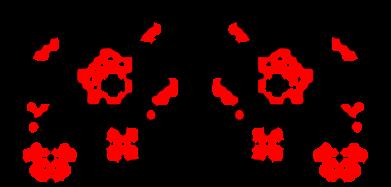 Принт Футболка Квітковий орнамент - FatLine