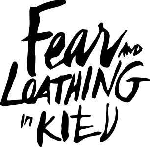 Принт Фартук Fear mo Loathing in Kitv - FatLine