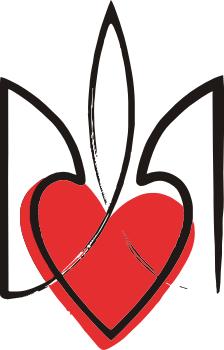 Принт Коврик для мыши Серце з гербом - FatLine