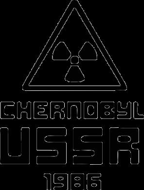Принт Футболка Chernobyl USSR - FatLine