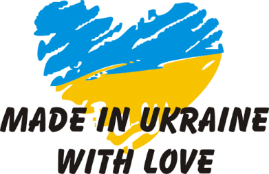 Принт Фартук Made in Ukraine with Love - FatLine