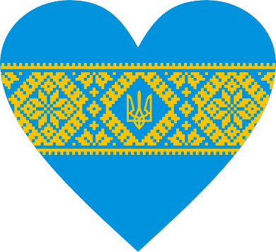 Принт Женские шорты Серце України - FatLine