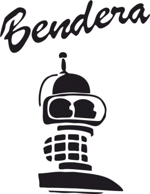 Принт Женская толстовка Bendera - FatLine