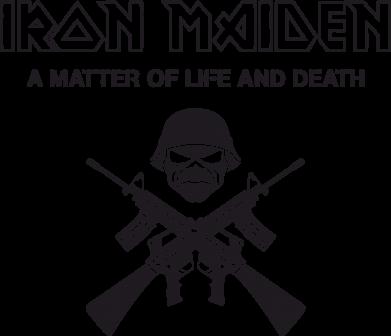 Принт Женская Iron Maiden - FatLine