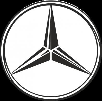 Принт Кружка 320ml Mercedes - FatLine
