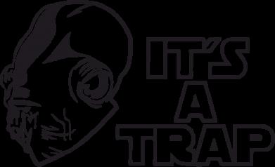 Принт Камуфляжная футболка It's a TRAP - FatLine