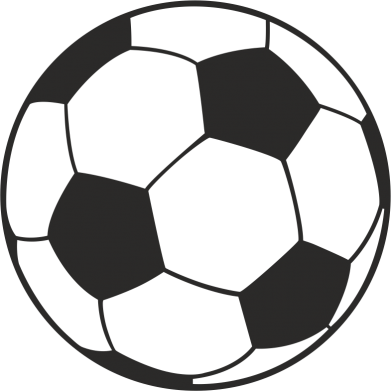 Принт Мужская футболка  с V-образным вырезом Футбольный мяч - FatLine