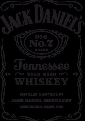 Принт Подушка Jack Daniel's - FatLine