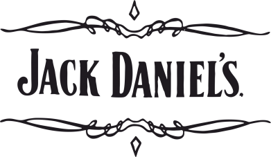 Принт Коврик для мыши Jack Daniel's Logo - FatLine