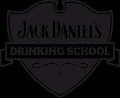 Принт Мужская майка Jack Daniel's Drinkin School - FatLine