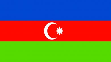 Принт Футболка с длинным рукавом Азербайджан - FatLine