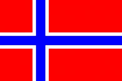 Принт Тельняшка с длинным рукавом Норвегия - FatLine