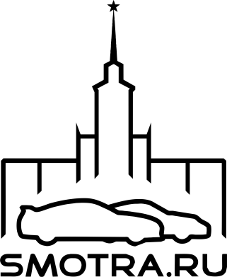 Принт Наклейка Smotra ru - FatLine