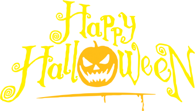 Принт Штаны Happy halloween - FatLine