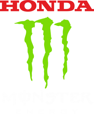 Принт Футболка Honda Monster Energy - FatLine