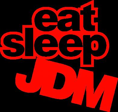 Принт Женская футболка Eat sleep JDM - FatLine