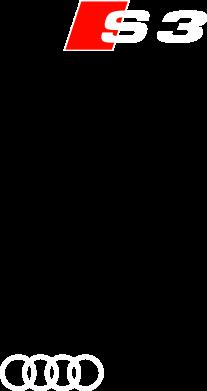 Принт Футболка Поло Audi S3 - FatLine