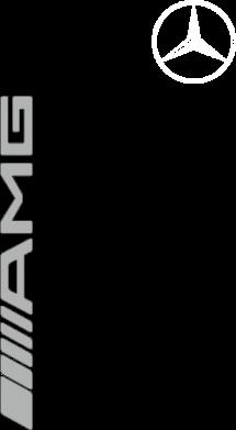 Принт Женская футболка поло Mercedes AMG - FatLine