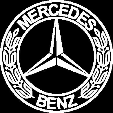 Принт Тельняшка с длинным рукавом Mercedes Logo - FatLine