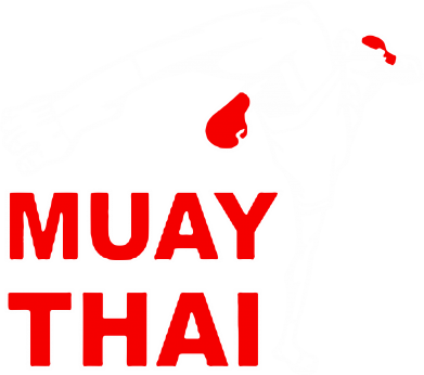 Принт Майка-тельняшка Muay Thai Hight kick - FatLine