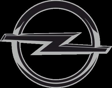 Принт Женская футболка с V-образным вырезом Opel Small - FatLine