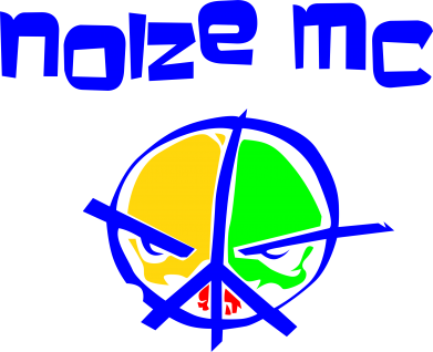 Принт Штаны Noize MC Logo - FatLine