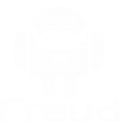 Принт Майка-тельняшка Android Freud - FatLine