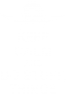 Принт Толстовка KEEP CALM AND DO STUFF - FatLine