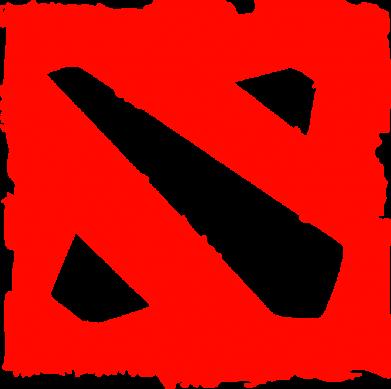 Принт Мужская майка Dota Logo Дота - FatLine