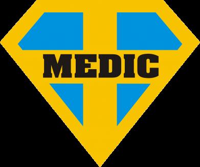 Принт Подушка Super Medic - FatLine