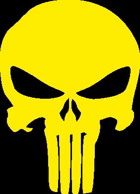 Принт Футболка Зубастый череп - FatLine