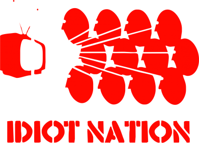 Принт Фартук Idiot Nation - FatLine