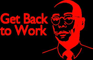 Принт Сумка Get Back To Work - FatLine