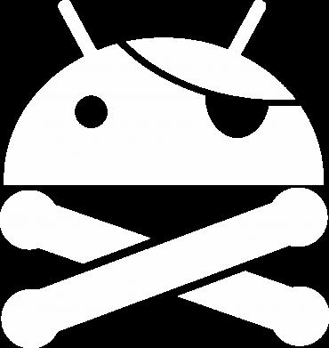 Принт Женская толстовка Android Pirate - FatLine