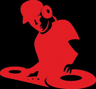 Принт Коврик для мыши Dj Logo - FatLine