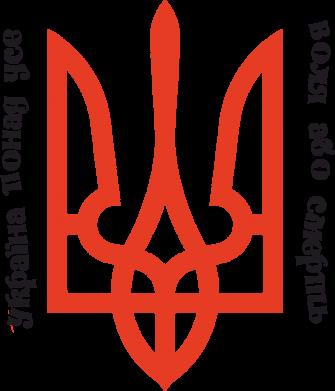 Принт Женская футболка Україна понад усе! Воля або смерть! - FatLine