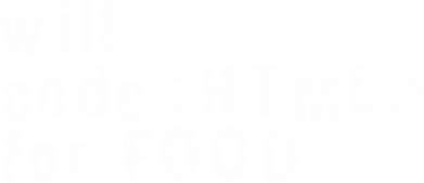 Принт Толстовка Code HTML for food - FatLine