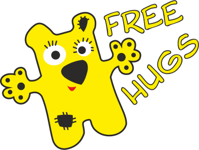 Принт Сумка Free Hugs - FatLine