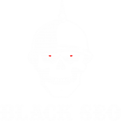 Принт Футболка Поло Black SEO - FatLine