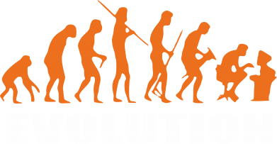 Принт Футболка Поло IT evolution - FatLine