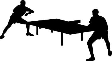 Принт Кружка 320ml Теннисный стол - FatLine