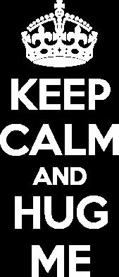 Принт Женская футболка KEEP CALM and HUG ME - FatLine