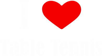 Принт кепка I love table tennis - FatLine